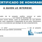 Solicitar el Certificado de honorabilidad - Trámites en Ecuador