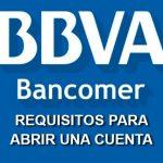 Abrir una cuenta de ahorros en Bancomer